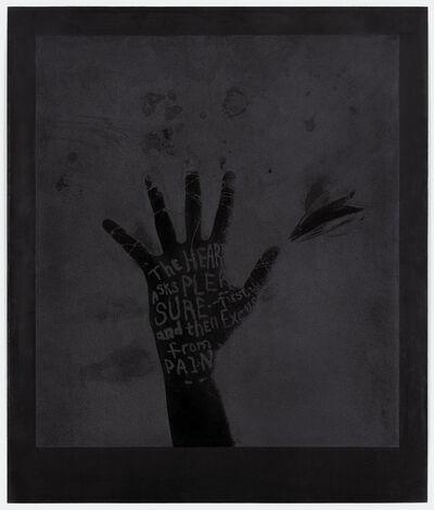 Lesley Dill, 'Black Flower Hand', 1997