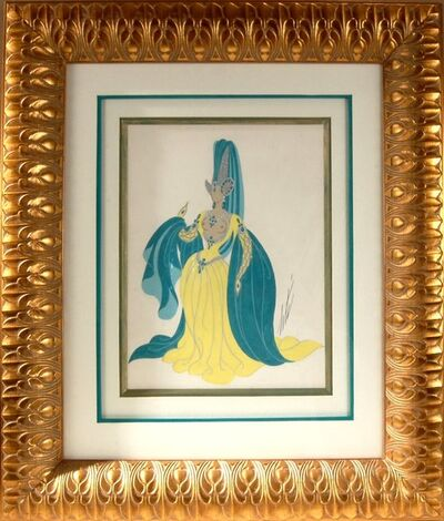 Erté (Romain de Tirtoff), 'Sorciere, Manequin aux Oreilles', 1959
