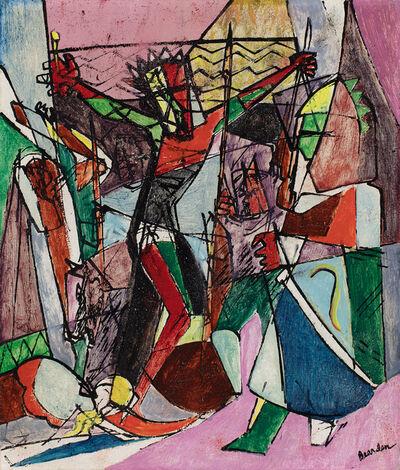 Romare Bearden, 'Golgotha (Crucifixion)', 1945