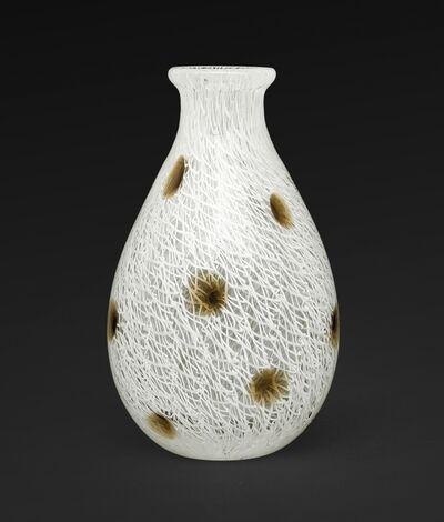 Archimede Seguso, 'A small vase merletto a pois', 1954