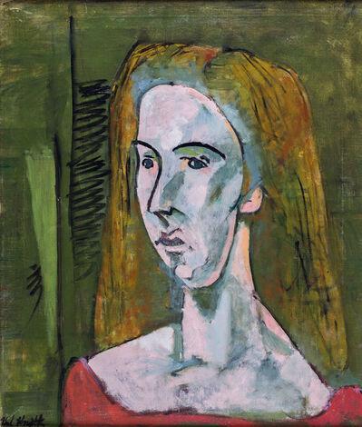 Karl Knaths, 'Portrait of Mary', 1949