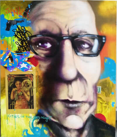 Chris DAZE Ellis, 'William Burroughs subconcious', 2010