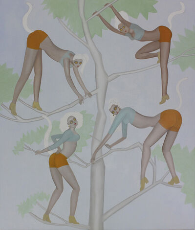 Elizabeth Fox, 'The Lemur Dancers', 2017