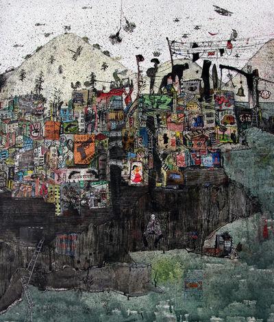 Zena Assi, 'My city on a riverbank', 2019