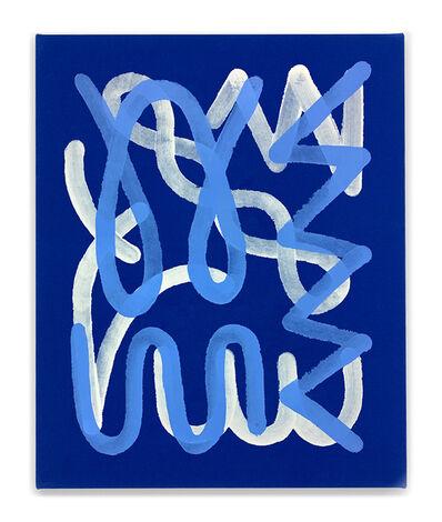 Chad Kouri, 'Jazz Movement Study (White & Light Blue)', 2019
