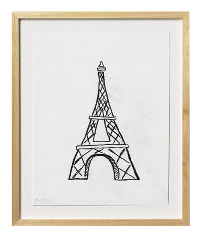 Donald Baechler, 'Eiffel Tower', 2021