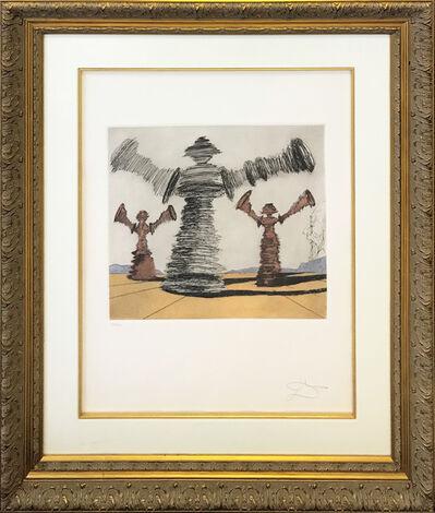 Salvador Dalí, 'THE SPINNING MAN', 1981