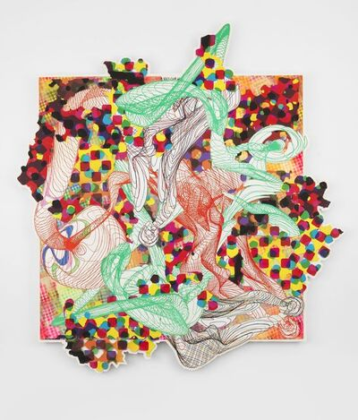 Frank Stella, 'Study for Princess of Wales Project, Toronto', 1992