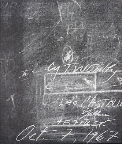 Cy Twombly, 'Untitled', 1967