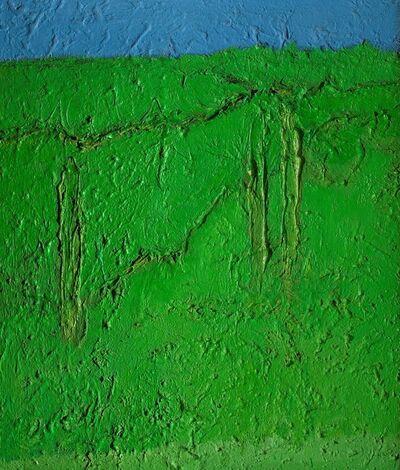 Carlo Mattioli, 'Primavera in collina / Paesaggio verde', 1978-79