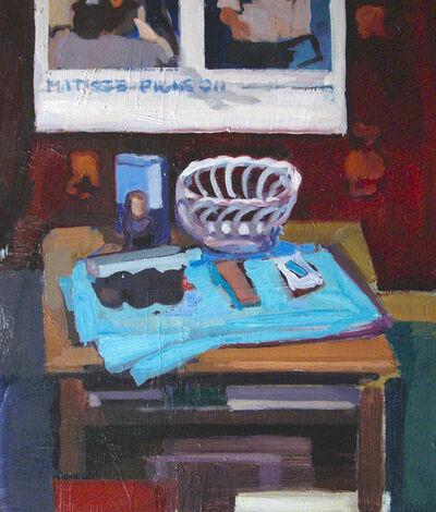 John Goodrich, 'Ceramic Basket with Matisse-Picasso', 2009