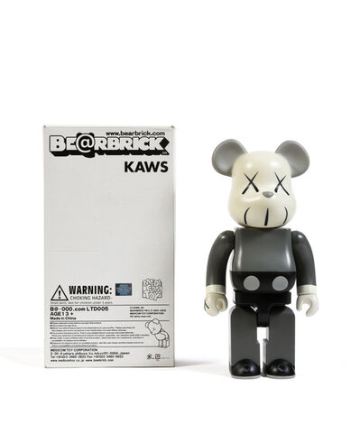 KAWS, 'Bearbrick 400% (Grey)', 2002