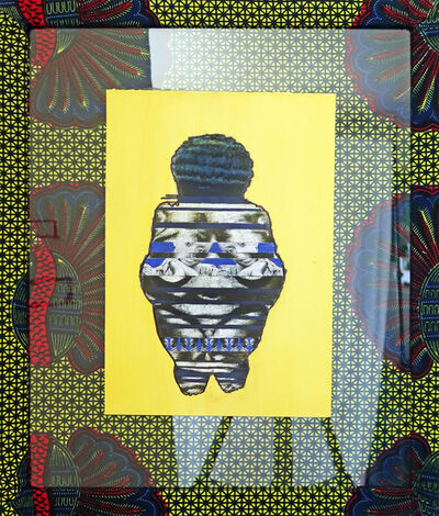April Bey, 'Hitarget Venus (Chimamanda Ngozi Adichie)', 2017