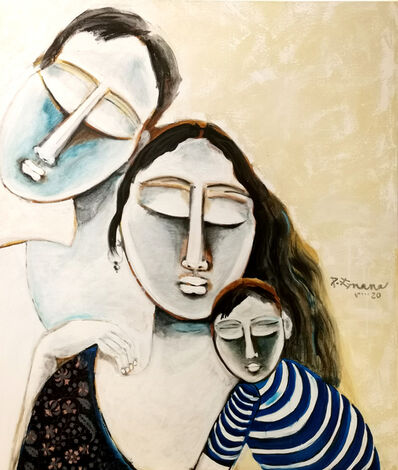 P Gnana, 'Love in Silence -01', 2020