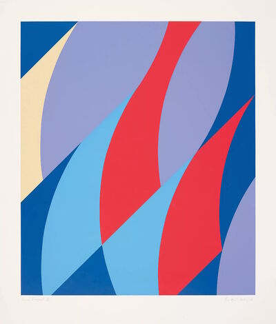 Bridget Riley, 'Large Fragment', 2006