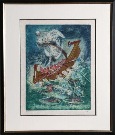 Roberto Matta, 'Les naufrageants from Hom'mere II - L'Eautre', 1974