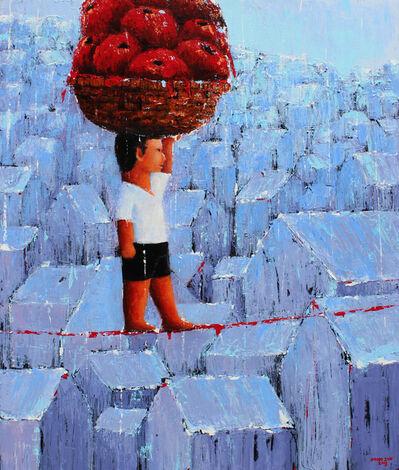 Hono Sun, 'Big Apples', 2015