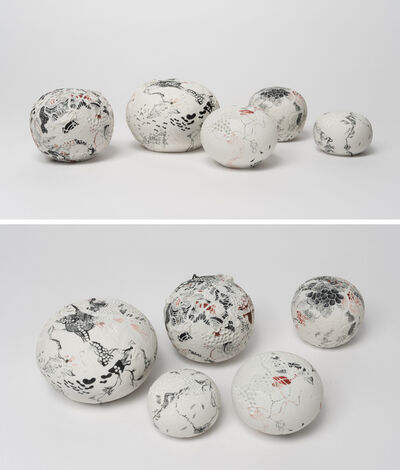 Darina Karpov, 'Orbs of perfect song into our deep, dear silence (Group of five)', 2019