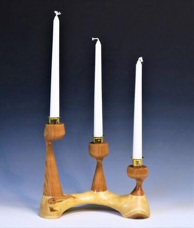 Robert L. Straight, 'Three stick candle holder', 2021