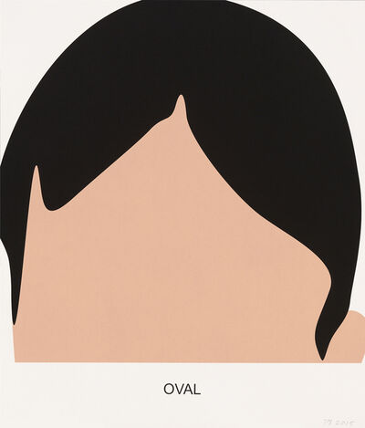 John Baldessari, 'Oval', 2016