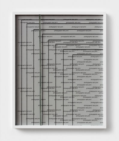 Sara Greenberger Rafferty, 'Zip and Test', 2018
