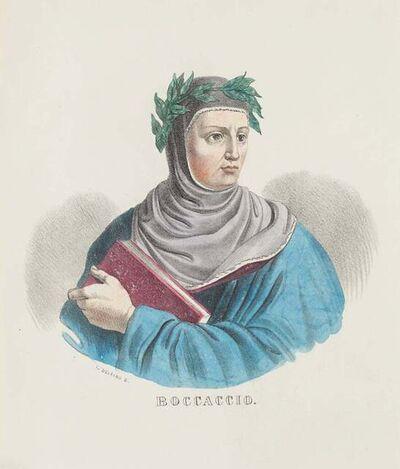 Dolfino, 'Portrait of Giovanni Boccaccio', 19th Century