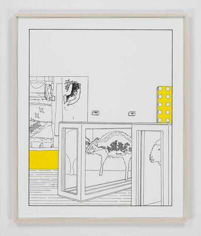 Louise Lawler, 'Dots and Slices (traced and painted), Seventh', 2006/2013/2021