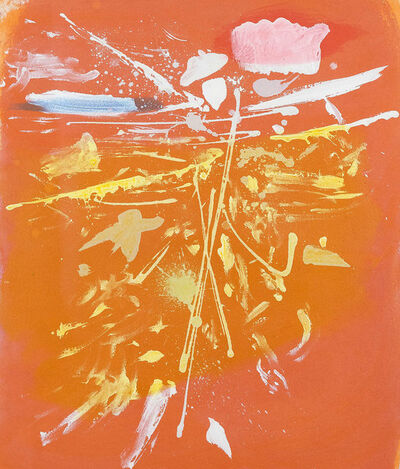 Dan Christensen, 'Orange Rush', 1981