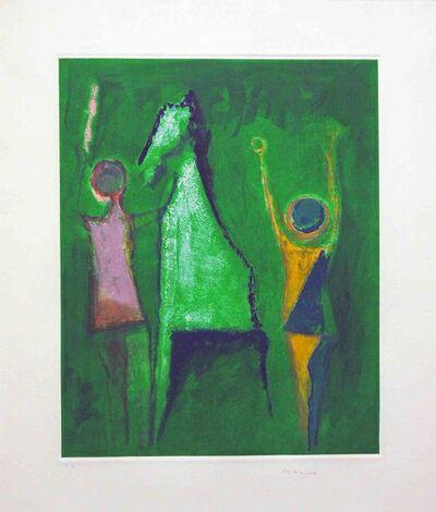 Marino Marini, 'Marino, from Shakespeare I, Plate I', 1977