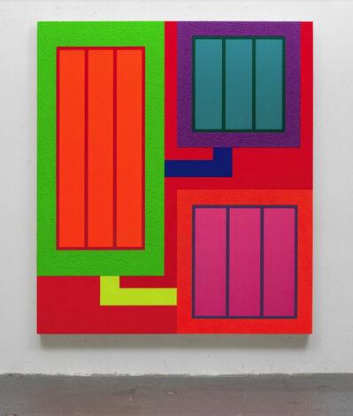 Peter Halley, 'TBT', 2018