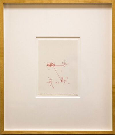 Janet Cohen, '10-24-07 Colorado at Boston (World Series, Game 1), 1st Inning, Estimating Space', 2007