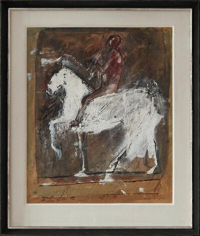 Marino Marini, 'Cavallo e cavaliere', Circa 1950