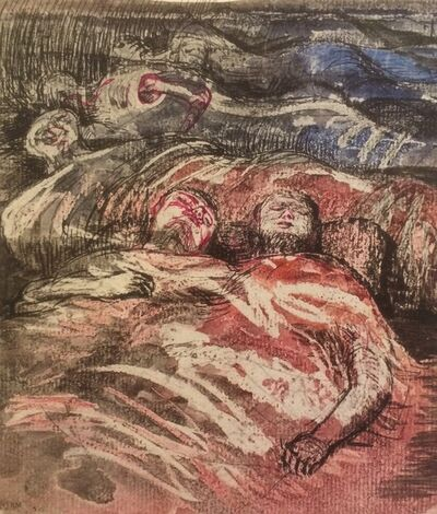 Henry Moore, 'Untitled XXXIII (Shelter Sketchbook)', 1967