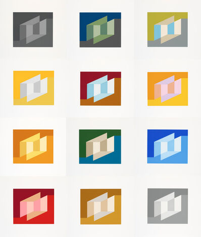 Josef Albers, 'Never Before', 1976