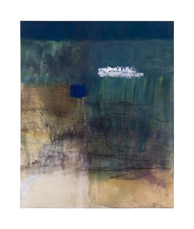 Célia Eid, 'Bleu sur herbe', 2018