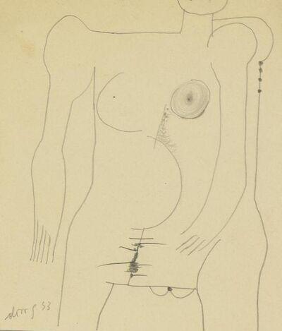 Gianni Dova, 'Nudo', 1953