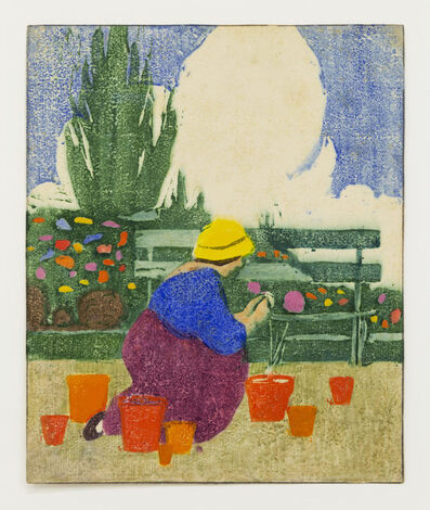 Ethel Mars, 'Untitled (Gardener)', ca. 1913