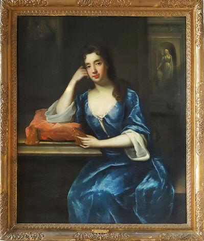 Sir Godfrey Kneller, 'Portrait of Mrs. Bagnal ( Pair with Mr. Bagnal )'