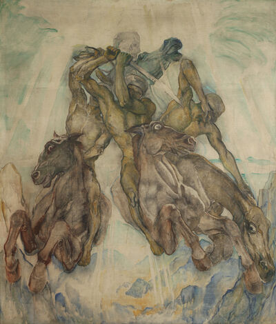 Clara Porges, 'Die apokalyptischen Reiter', before 1938