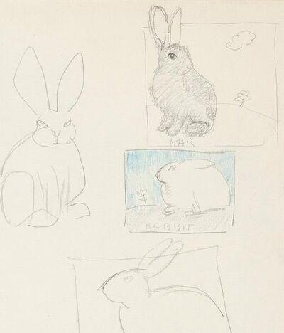 Joyce Wieland, 'Bunnies', 1980