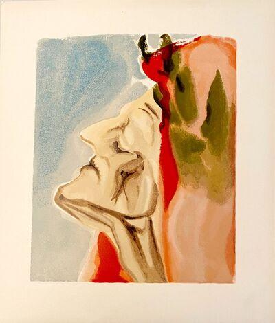 Salvador Dalí, 'La Divine Comédie - Paradis 07 - Le nouveau doute de Dante', 1963