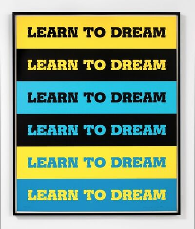 John Baldessari, 'Learn to Dream', 2011