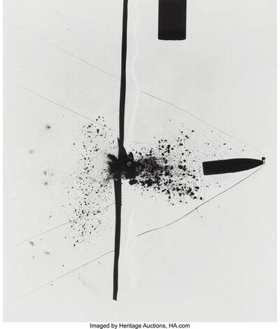 Harold Eugene Edgerton, 'Bullet Through Plexiglass', 1962
