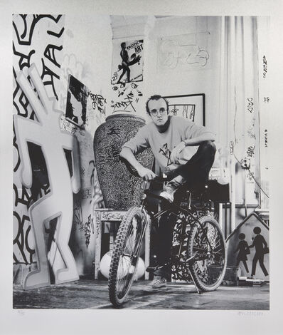 Janette Beckman, 'Keith Haring'