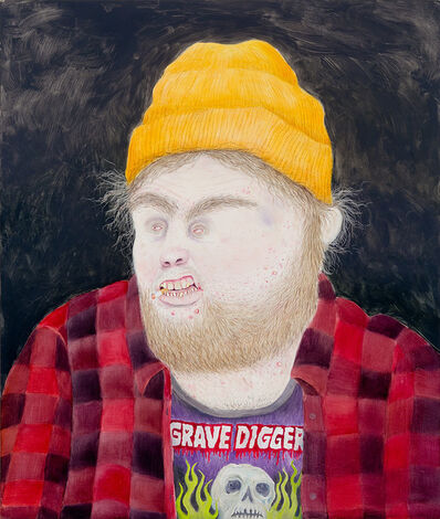 Rebecca Morgan, 'Hunter or Hipster, Male', 2012