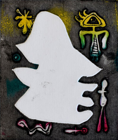 Joan Miró, 'Composition XV, from: Antihead | L'Antitête', 1947