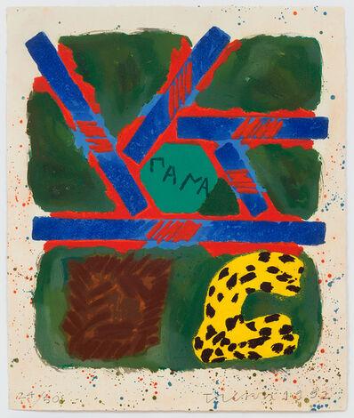 Joe Tilson RA, 'Flaying of Marsyas', 1992