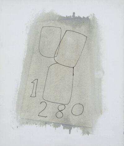 Ben Nicholson, '1,2,8,0', 1970