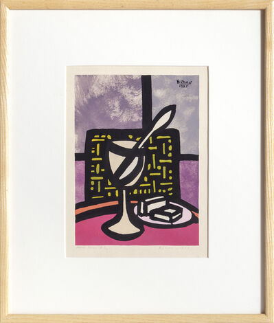 Benjamin Benno, 'Glass and Spoon', 1935