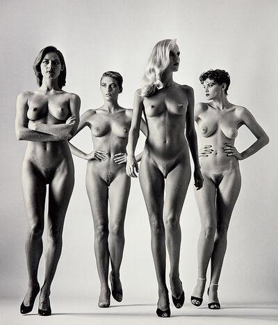 Helmut Newton, 'Sie Kommen, Paris', 1981
